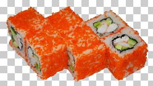 Sushi California Roll Makizushi Japanese Cuisine Sashimi PNG