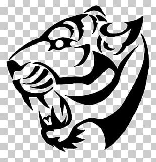 Tiger Drawings For Tattoos Lion PNG