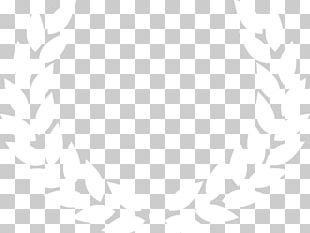 Black And White Symmetry Line Pattern PNG