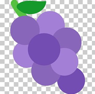 Grape Emoji Gelatin Dessert Text Messaging SMS PNG