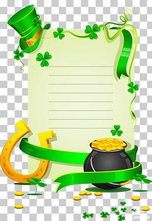 Four-leaf Clover Saint Patrick's Day Shamrock PNG