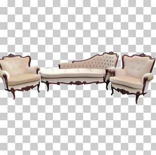 Chaise Longue Chair Garden Furniture Couch PNG