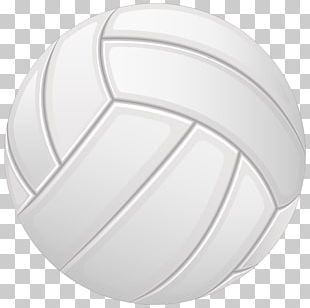 Beach Volleyball Ball Game PNG