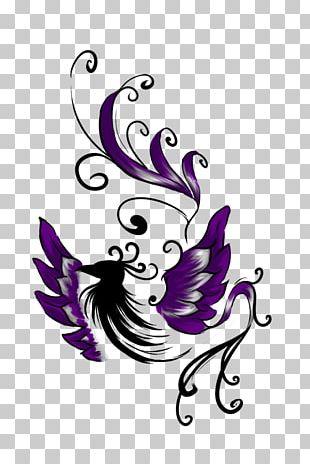 Tattoo Artist Drawing Phoenix PNG