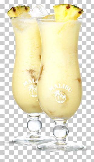 Piña Colada Cocktail Garnish Harvey Wallbanger Batida Non-alcoholic Drink PNG