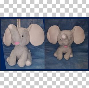 Plush Stuffed Animals & Cuddly Toys Elephants Textile Pink M PNG