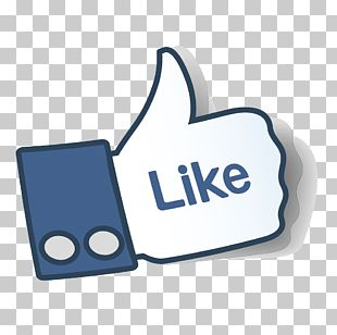 Facebook Like Button Thumb Signal Symbol PNG