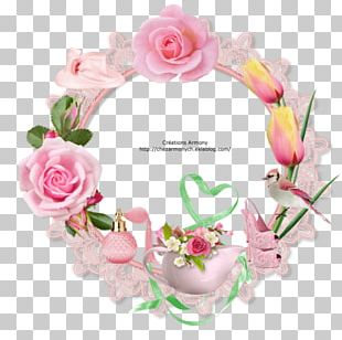 Floral Design Cut Flowers Wreath Artificial Flower PNG