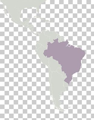 South America Latin America Central America Blank Map PNG