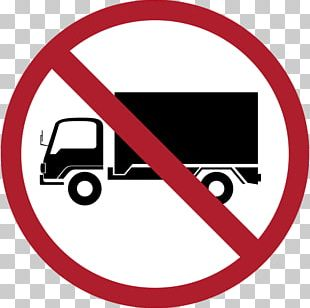 Prohibitory Traffic Sign Truck Vehicle Road PNG