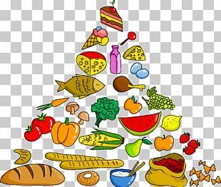 Food Pyramid PNG