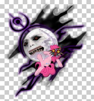 Skull Pink M Font PNG