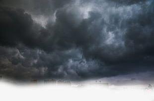 Black Clouds PNG
