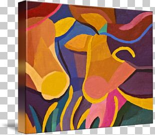 Canvas Print Modern Art Painting PNG