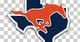 Sachse High School Mustangs Ford Mustang Garland Trinity High School PNG