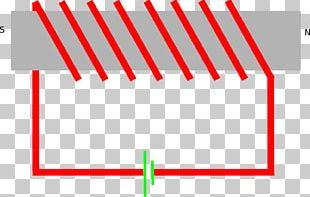 Wiring Diagram Electromagnet Circuit Diagram Drawing PNG