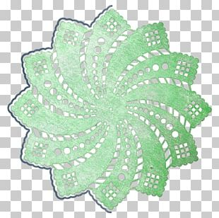 Doily Paper Embroidery Place Mats Pattern PNG