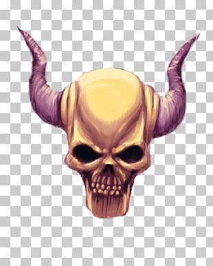 Skull Demon Drawing Devil PNG