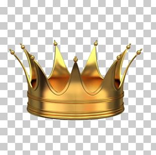 Crown Gold 3D Computer Graphics PNG