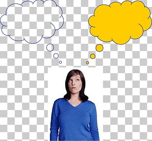 Thought Person Speech Balloon PNG