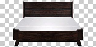 Bed Frame Headboard Platform Bed Mattress PNG