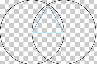Vesica Piscis Symbol Dyad Sacred Geometry Pythagoreanism PNG