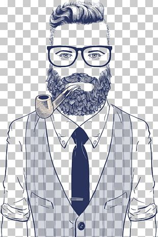 Hipster Drawing Retro Style Illustration PNG