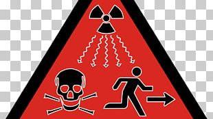 Ionizing Radiation Hazard Symbol Radioactive Decay Trefoil PNG