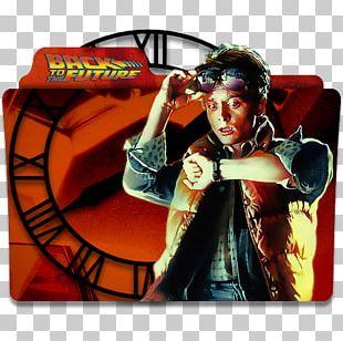Biff Tannen Dr. Emmett Brown Back To The Future Film DeLorean Time Machine PNG