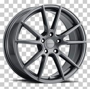 Gunmetal Custom Wheel Manufacturing Liquidmetal Bronze PNG