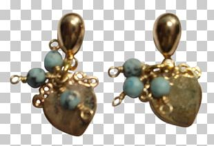 Earring Turquoise Gold-filled Jewelry Jewellery PNG