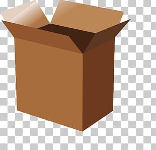 Paper Carton Cardboard Box PNG