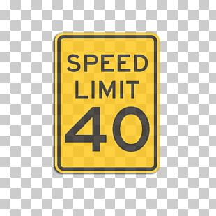 Speed Limiter Traffic Sign Car Manual On Uniform Traffic Control Devices PNG