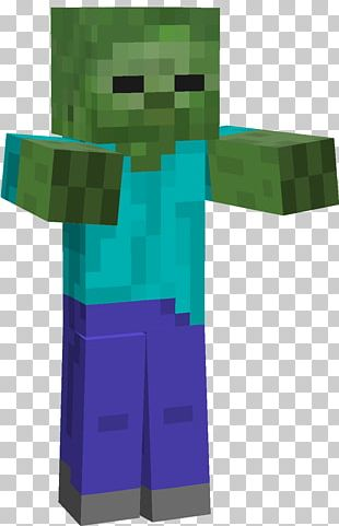 Minecraft: Pocket Edition Zombie PNG