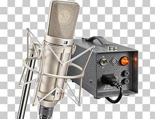 Neumann U47 Microphone Georg Neumann Diaphragm Sound PNG