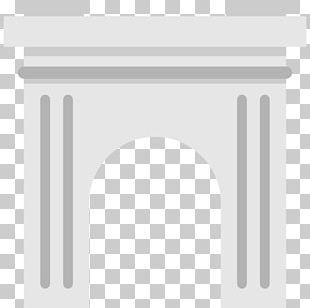 White Line Angle Column PNG