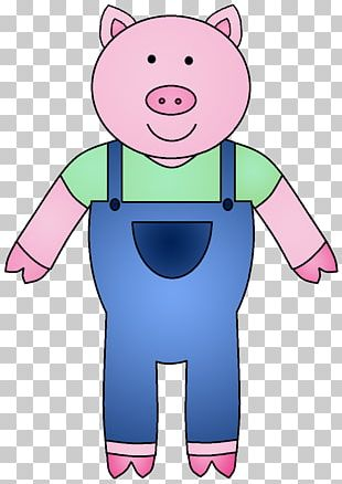 Piglet Big Bad Wolf The Three Little Pigs PNG