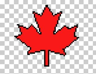Maple Leaf Flag Of Canada PNG