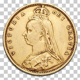 Coin Golden Jubilee Of Queen Victoria Royal Mint Sovereign PNG