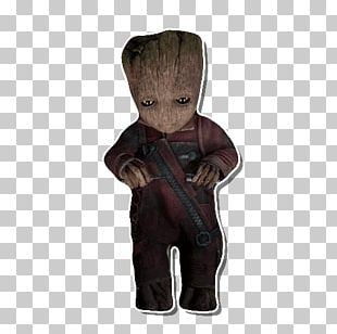 Baby Groot Nebula Star-Lord Sticker PNG