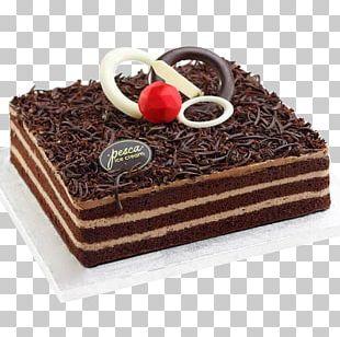 Chocolate Cake Black Forest Gateau Torte Birthday Cake Tart PNG