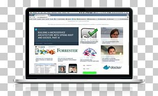 Computer Software Website Computer Monitors Web Page Laptop PNG