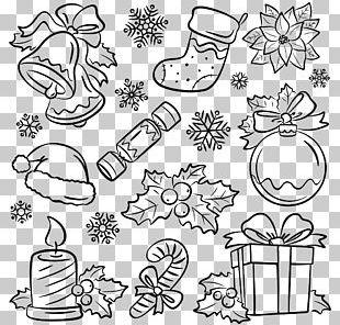 Santa Claus Christmas Cracker Drawing Illustration PNG