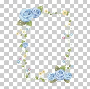 Borders And Frames Paper Flower PNG