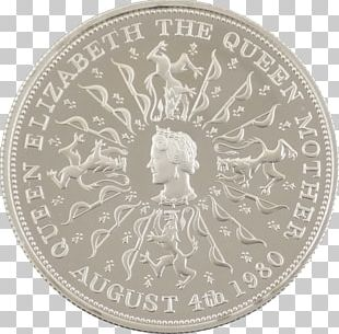 Commemorative Coin Silver Coin Crown PNG
