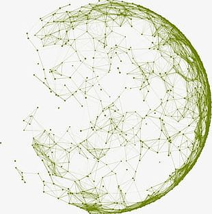 Circular Design Geometric Lines PNG