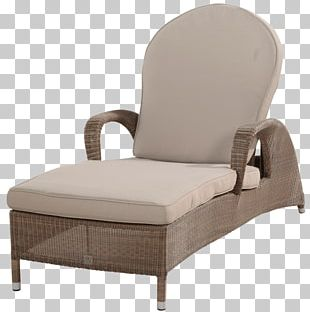 Garden Furniture Pillow Chair Wicker PNG