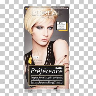 Hair Coloring Blond LÓreal Human Hair Color Hair Permanents & Straighteners PNG