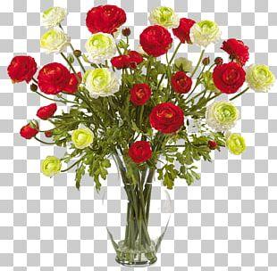 Flower Bouquet Artificial Flower Floristry Buttercup PNG