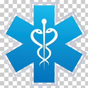 Star Of Life Emergency Medical Services Emergency Medical Technician Paramedic Certified First Responder PNG